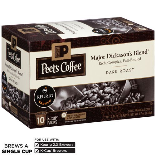 Peet's Coffee Major Dickason's Blend 120 K-Cups by MegaDeal
