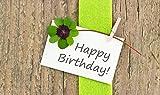 Fruchtknall Happy Birthday Karte
