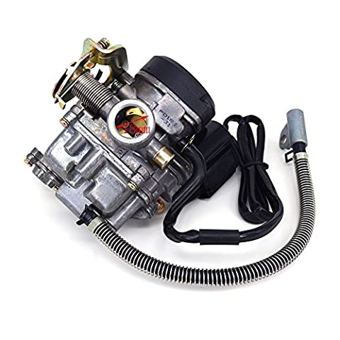 18 mm Keihin CVK pd18j Carb pour réglage carburateur GY6 50 cc Scooter Chinois 139QMA Scooter jonway
