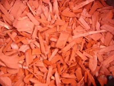 Rindenmulch Farbe ziegelrot 50 Liter/Sack von Terra Forma - Du und dein Garten
