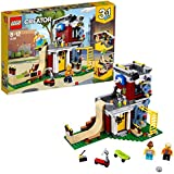 LEGO Creator 3in1  Modular Skate House Building Blocks for Kids 8 to 12 Years (422 Pcs) 31081