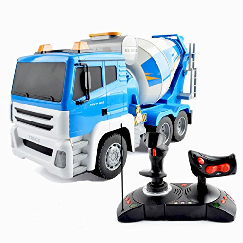 deaor-remote-controlled-giant-construction-toy-truck-118-scale-blue-cement-mixer-truck