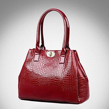 La donna pu canna borsa a tracolla / Tote - bianco / blu / rosso / nero,bianco Ruby