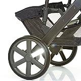 ABC Design 9132401reflector-kit Kit Reflektoren für Rad Kinderwagen, silber