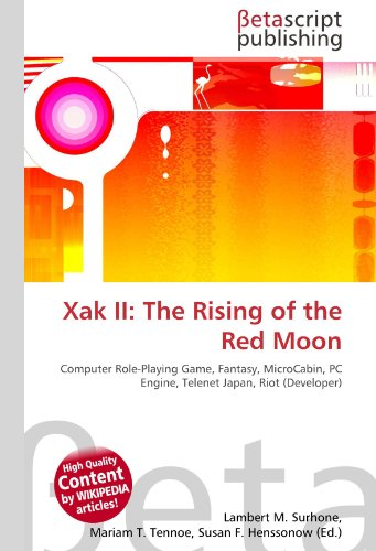xak-ii-the-rising-of-the-red-moon-computer-role-playing-game-fantasy-microcabin-pc-engine-telenet-ja
