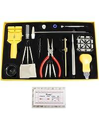KurtzyTM Kit de réparation de montre 291 Pièces dans une boite set de remplacement de piles