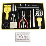 Kurtzy TM 291 teiliges Uhren Reparatur Set Box Batterie Entferner Ersatzteile Set