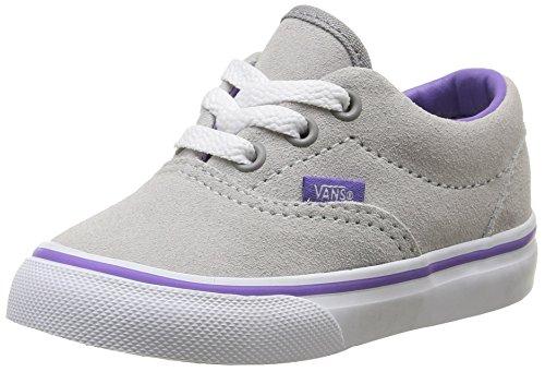 Vans T ERA SUEDE, Unisex Babies' First Walking Shoes, Grey (Suede/Vapor Blue/Dahlia Purple), 9 Child UK (26 EU) Vans T ERA SUEDE, Unisex Babies' First Walking Shoes, Grey (Suede/Vapor Blue/Dahlia Purple), 9 Child UK (26 EU) 51JKH7AMwLL