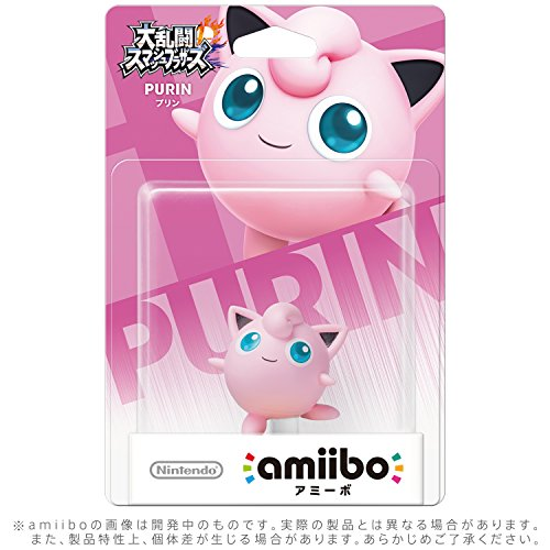 Nintendo Jigglypuff amiibo Japan Import