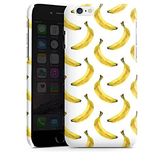 Apple iPhone 4 Housse Étui Silicone Coque Protection Bananes Été Fruits Cas Premium brillant
