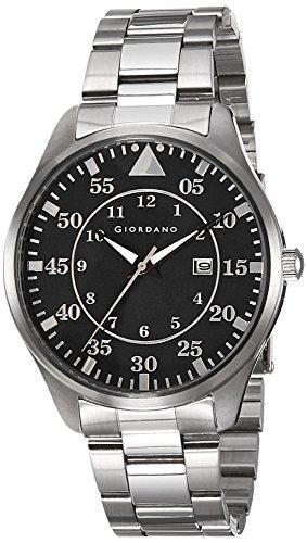 Giordano Analog Black Dial Men's Watch - 1771-11 image