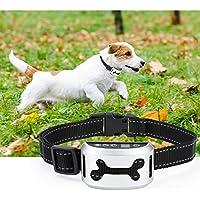 Aidodo Collar Antiladridos Recargable Anti Ladridos para Perros Collar Adiestramiento Sin Descarga Eléctrica Collar Automático Utiliza Sonidos y Vibraciones Audibles Seguro Impermeable 7 Niveles