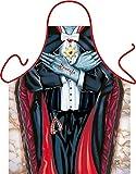 Vampir Dracula - Fun Motiv Schürze - mit Gratis-Urkunde