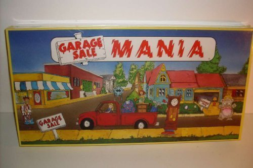 Garage Sale Mania Board Game (1986) by Laupa by Laupa