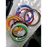 HongDak Rollos Filamentos 1.75mm de ABS para Impresión 3D (10 colores/cada rollo 3 metros)