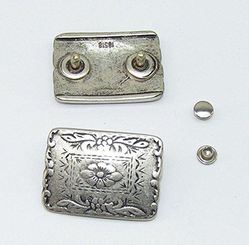 1 Zierniete Metall Applikatione Zierteil Trachten 05.39/510