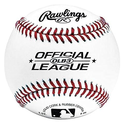 Rawlings Baseball Ball OLB3 mit MLB
