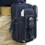 Multiuso Heavy Duty Outdoor Gear telefono Utility Pouch–Tactical marsupio per cellulari e accessori, iPod, portachiavi, piccoli gadget, contanti, utensili e altri