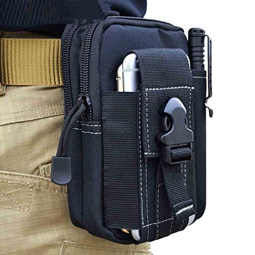 - Heavy Duty Outdoor Gear Holster Utility Pouch-Tactical Taille Pack für Handy & Zubehör, iPod, Schlüssel, kleine Gadget, Cash, Hand, und andere