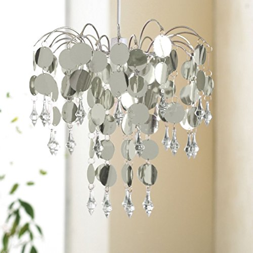 chic-chandelier-with-crystal-droplet-easy-fit-pendant-room-ceiling-light-shade
