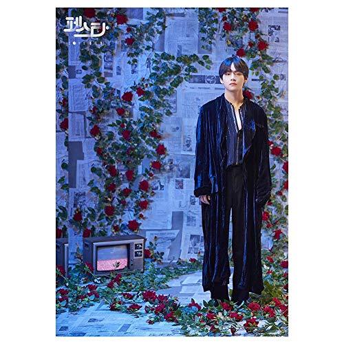 ALTcompluser BTS A3 Poster Foto Plakat, Bangtan Boys Jungkook/Jimin/V/Suga/Jin/J-Hope/Rap Monster Photo Wanddekoration, Beste Geschenk für BTS Army(V) -