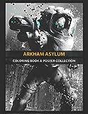 Coloring Book & Poster Collection: Arkham Asylum Freeze Comics