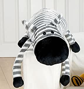 kuschelkissen xxl zebra ca 88 cm auch als nackenkissen seitenschl fer ideal 30 c waschbar gilde. Black Bedroom Furniture Sets. Home Design Ideas