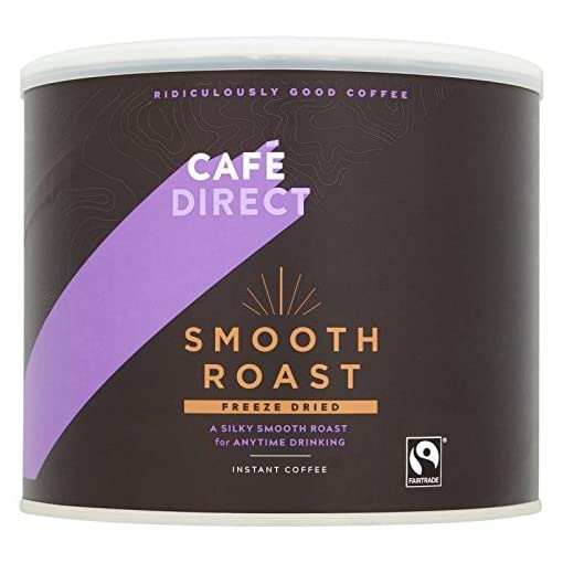 Cafédirect Smooth Roast Fairtrade Arabica Instant Coffee 500g