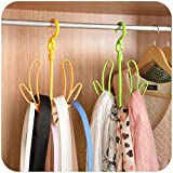 HOME CUBE 2 Pc Shoes Drying Hanger / Tie...