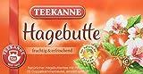 Teekanne Hagebutte 20 Beutel, 4er Pack (4 x 70 g Packung)
