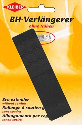 Kleiber 35 mm Rallonge soutien-gorge double crochet, Noir