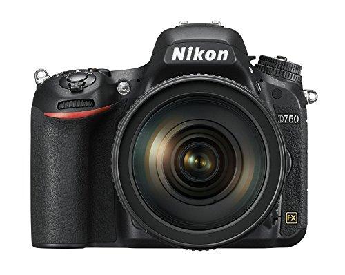 Nikon D750+ NIKKOR VR 24/120SLR Digitalkamera, 24,3Megapixel, 8GB SD 400x Lexar, black [Nikon Karte: 4Jahre Garantie] - 2