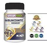 El más Potente y Completo Multivitamínico con Vitaminas C, E, B3, B5, A, B6, B2, B1, B9, B12, D3, Zinc y Hierro – Suplemento vitamínico que evita gripes y resfriados además de potenciar y fortalecer la buena memoria – 60 comprimidos sin colorantes de rápida dispersión