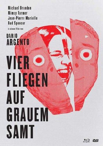 Preisvergleich Produktbild Vier Fliegen auf grauem Samt - Uncut (Blu-Ray+2DVD) Mediabook [Limited Collector's Edition] [Limited Edition]