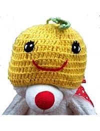 """LadyMYP©Handgemachte Strickmütze, Babymütze, Kindermütze, Hüte, 100% Wolle, Mütze """"Kürbis"""""""