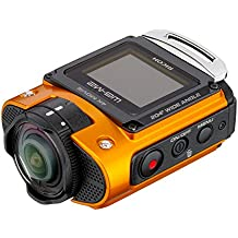 Ricoh WG-M2 Caméra d'action étanche 8 Mpix Wi-FI Ecran LCD 1.5'' - Orange