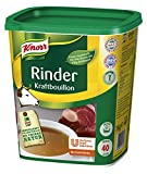 Knorr Rinder Kraftbouillon (vielseitig anwendbare Rinderbrühe, würziger Geschmack) 1er Pack (1 x 1 kg)