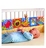 Enlarge toy image: ODN Kids Mirror Animal Bed Cognize Cloth Book Infant Baby Toy Cute Popular Baby Toys 0-12 Months