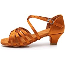 release date 84db5 111e1 scarpe da ballo - Marrone - Amazon.it