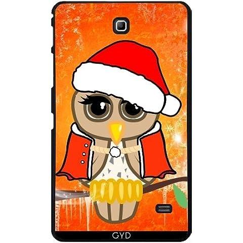 Custodia per Samsung Galaxy Tab 4 (7 inch) - Simpatico Gufo Natale by nicky2342