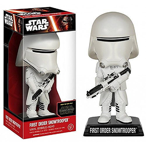 Star Wars EP 7-First Order Snowtrooper Bobble-Head [Import allemand]