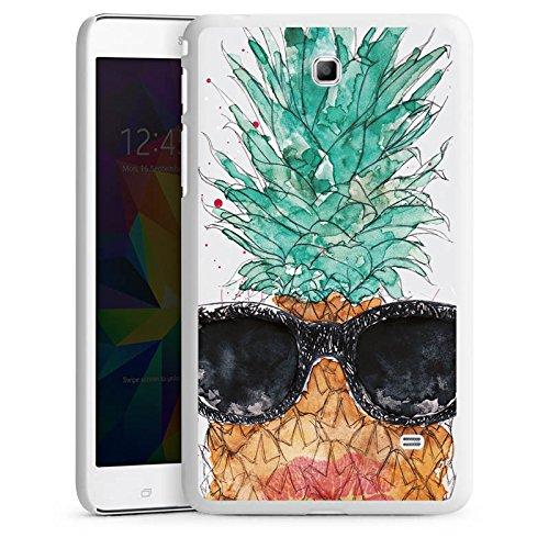 DeinDesign Samsung Galaxy Tab 4 7.0 Hülle Schutz Hard Case Cover Ananas Frucht Sonnenbrille