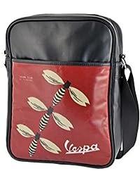 53aa8c730f VESPA Borsa borsello VERTICALE Porta Tablet per scuola TEMPO LIBERO o  Lavoro. 33 x 26