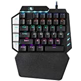 Mini Mechanische Tastatur RGB Gaming Tastatur One-Handed Gaming Keypad USB Tastatur - 38 Tasten