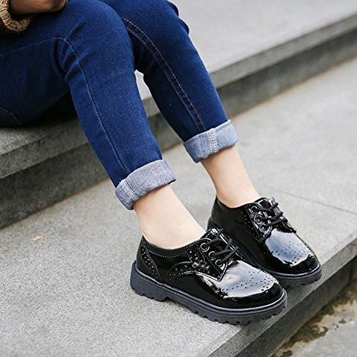 69c168f8e Juleya Niños Zapatos con Cordones – Zapatos Oxford Clásicos Zapatos de Fiesta  Para Bodas ...