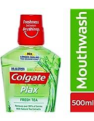 Colgate Plax Fresh Tea Mouthwash - 500 ml