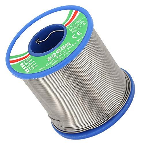 40% Zinn Lötdraht Kolophonium Kernrolle Bügeleisen für elektronische Lötprodukte (0,6/0,8 mm)(0,8 MM) 8 Gauge Power Kit