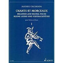 CRICKBOOM - Cantos y Melodias 1º para Violin y Piano