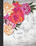 #5: Spending Log Book: Payment Record Tracker; Daily Expenses Tracker - Pink Flower - Manage Cash Going in & Out, Simple Accounting Book, Small & Compact; Money Management