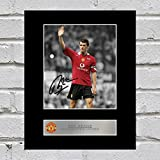 Roy Keane Signiert Foto Display Manchester United FC